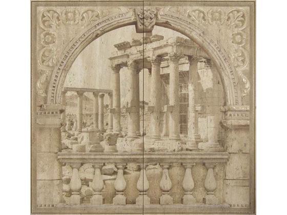 Decor Mural Poseidon Crema Mat 62/60 2бр