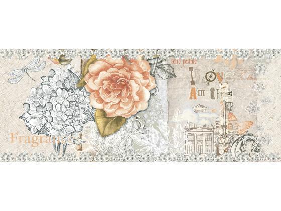 Декор Ажур Бежова Роза