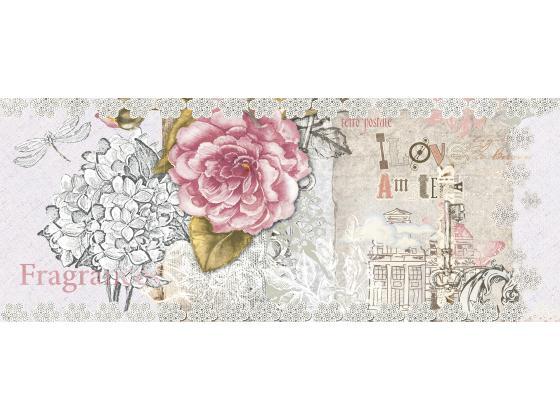 Декор Ажур Розова Роза