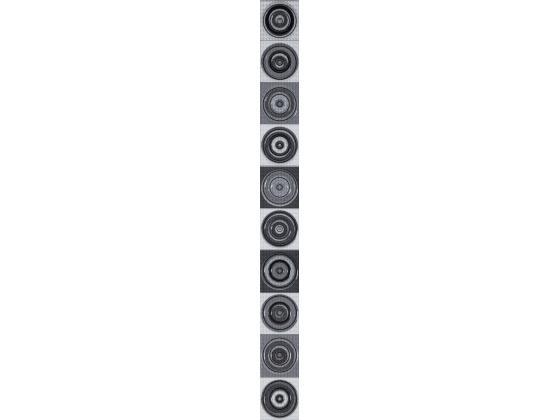 Фриз Виола кръгове Антрацит