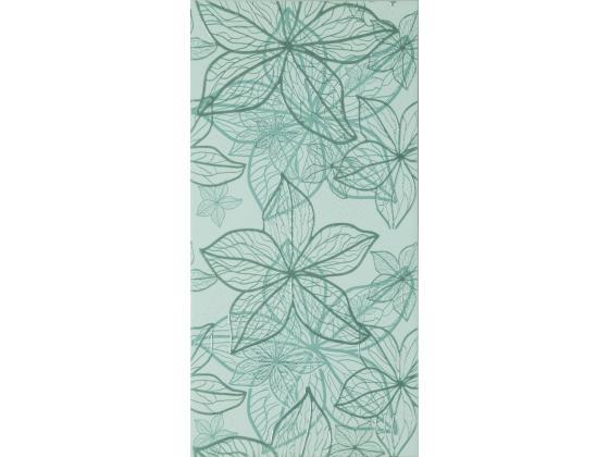 Декор Изола Цветя Зелен