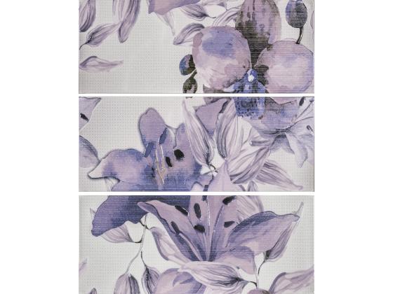 Декор Виола Цветя Лилава