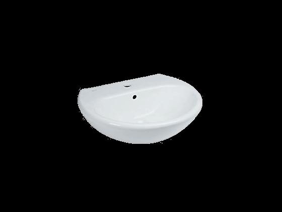 Crown Sink 55 Cm. White