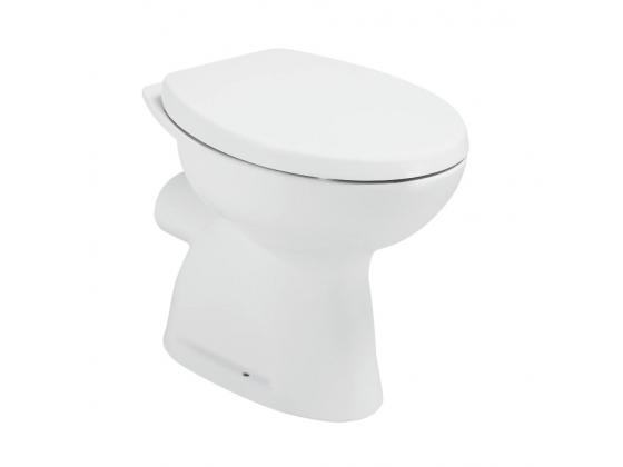Тоалетна чиния SevaDuo с хоризонтално оттичане