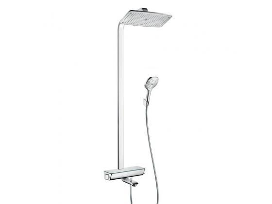 raindance select e 360 1 jet showerpipe hansgrohe. Black Bedroom Furniture Sets. Home Design Ideas