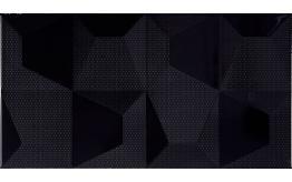 Cube Negro Relieve