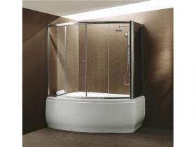 Сет хидромасажна вана с душ кабина К-560