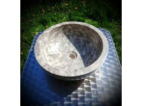 Мивка Тип Купа от Сив Мрамор М201