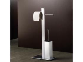 Комплект Стояща четка за Тоалетна и Държач за Хартия G-Bridge