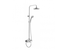 Wall mounted single-lever shower mixer  Zoe-7938B