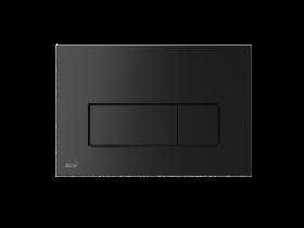 Бутон за вградено казанче Alcaplast M578 черен мат