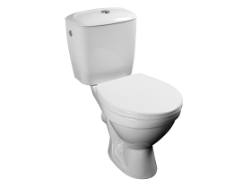 Close Coupled WC with Cistern Mira White