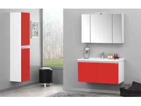 Комплект Terme 60 cm MDF червен