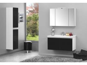 Комплект за баня Terme 60 см МДФ черен