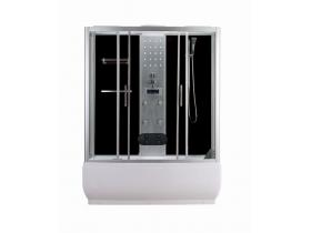 Hydromassage shower cabin with bathtub 85x150x215 TR150