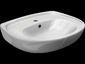 Мивка за баня Мира 55 см Бял