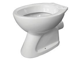 Floor WC for wall-hung cistern Classica beige