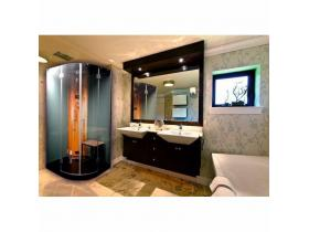 Steam/Hydromassage Shower Cabin COCO 100x100