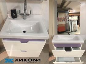 Шкаф за баня с мивка Arion 55 см