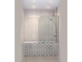 Стъклен Параван за вана Андора- Р 110x130