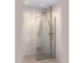 Стъклен параван за баня Линеа-Р