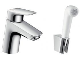 Смесител за мивка с хигиеничен душ Logis Hansgrohe