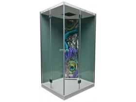 Хидрамасажна/Парна душ кабина Karl 100x120x209 см