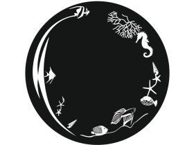 Кръгло Огледало Морски Свят Ф50