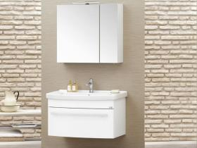Мебели за баня Nil 80 MDF бял