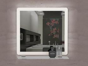 Огледало за баня с LED осветление Лука