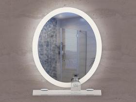 Огледало за баня с LED осветление Карара