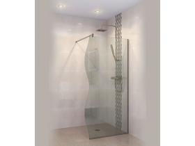 Стъклен Параван за баня Палма-Р