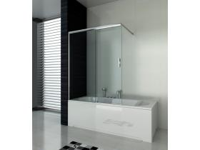 Shower bathtub screen 120x140 E1214