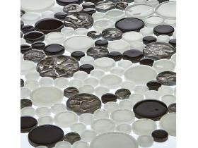 Tenlight Crystal Glass mosaic-Round drop (4mm)