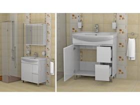 Комплект Мебели за Баня Флорида 75 - Т