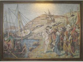 Декоративно пано Пристанище