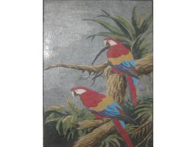 Decorative Mural Parrot