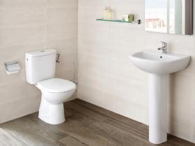Комплект мивка за баня и моноблок Adele