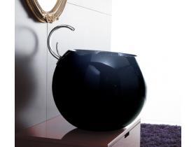 Мивка Sfera 56 черна с черен плот
