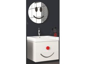 Комплект Мебели за Баня Simi 55 Бял