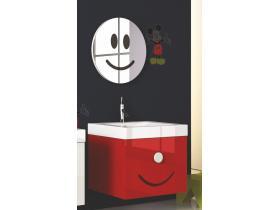 Комплект Мебели за Баня Simi 55 Червен