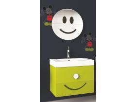 Комплект Мебели за Баня Simi 55 Зелен