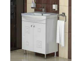 Шкаф за Баня с Мивка Сити 65 PVC - Т