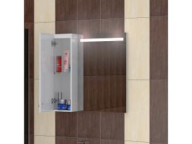Шкаф за Баня с Огледало Сити  65 PVC - Т