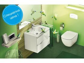 WC Комплект за вграждане Tesi седалка с нормално затваряне