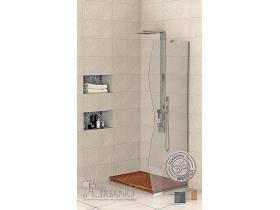 Стъклен Параван за баня Палма-Р 60 см