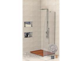 Стъклен параван за баня Линеа-Р 60 см