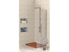 Стъклен параван за баня Томи - Р 60х194