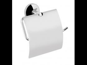 Държач за Тоалетна Хартия с капак инокс Alpha